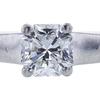 0.54 ct. Square Modified Cut Solitaire Tiffany & Co. Ring, E, VVS1 #4