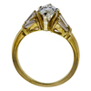 1.05 ct. Marquise Cut Bridal Set Ring, H, SI1 #1