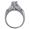 1.46 ct. Oval Cut Solitaire Ring, E, SI1 #1