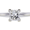 1.02 ct. Princess Cut Solitaire Ring #3