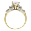 1.56 ct. Pear Cut Solitaire Ring, H, I1 #4