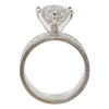 3.95 ct. Round Cut Solitaire Ring, I-J, I2 #2