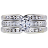 Art Deco GIA 0.49 ct. Round Cut Bridal Set Tiffany & Co. Ring, E, VVS2 #1