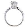 0.90 ct. Round Cut Bridal Set Ring #3