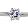 1.23 ct. Round Cut Solitaire Ring #3