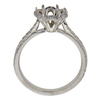 1.31 ct. Round Cut Halo Ring, G, SI1 #4