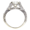 1.41 ct. Round Cut Bridal Set Ring, J, VS2 #3