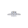 1.70 ct. Round Cut Solitaire Ring, G, VS2 #3