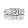 1.31 ct. Princess Cut Bridal Set Ring, G, VS1 #3