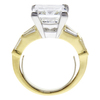 7.01 ct. Princess Cut Solitaire Ring, I, SI2 #3