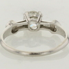 0.51 ct. European Cut Cut Solitaire Ring #3