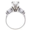 2.0 ct. Princess Cut Solitaire Ring, G, SI1 #4