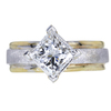 1.51 ct. Princess Cut Solitaire Ring, H, I1 #3