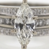 1.33 ct. Marquise Cut Bridal Set Ring #2