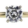 1.15 ct. Round Cut Bridal Set Ring, I, VS2 #3