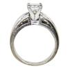 0.9 ct. Princess Cut Bridal Set Ring, K, VVS2 #4