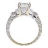 1.52 ct. Princess Cut Bridal Set Ring, J, VS2 #4