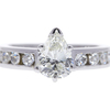 1.25 ct. Pear Cut Solitaire Ring, J, SI1 #3