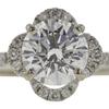 1.24 ct. Round Cut Bridal Set Ring, J, I1 #4