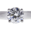 1.07 ct. Round Cut Solitaire Ring, G, VS1 #3
