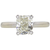 1.71 ct. Cushion Modified Cut Solitaire Ring, L, VS2 #3