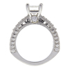 1.11 ct. Princess Cut Central Cluster Ring, J, VS2 #4