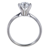 1.00 ct. Round Cut Solitaire Ring, D, SI2 #1