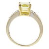 3.01 ct. Modified Cushion Cut Solitaire Ring, Fancy, VS2 #4