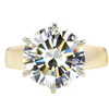 4.26 ct. Round Cut Solitaire Ring #1