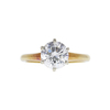 1.64 ct. Round Cut Solitaire Ring, H, SI2 #3