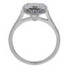 1.15 ct. Cushion Cut Bridal Set Tiffany & Co. Ring, E, VVS2 #3