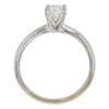 0.65 ct. Round Cut Solitaire Ring, G-H, SI2 #2