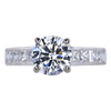 1.50 ct. Round Cut Solitaire Ring, H, SI2 #3