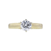 0.77 ct. Round Cut Solitaire Ring, H, VVS2 #2