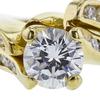 1.02 ct. Round Cut Bridal Set Ring, G, SI1 #1