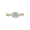 1.5 ct. Round Cut Solitaire Ring, G, I1 #3