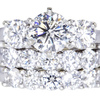 1.54 ct. Round Cut Bridal Set Ring #3
