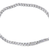 Princess Cut Tennis Bracelet, I-J, VS2-SI1 #3