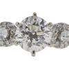1.14 ct. Round Cut Bridal Set Ring, I, VVS2 #4