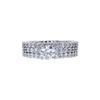 0.70 ct. Round Cut Bridal Set Ring, H, VS2 #3