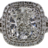 1.71 ct. Cushion Cut Halo Ring #2