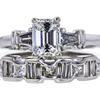 1.22 ct. Emerald Cut Bridal Set Ring, G, VS2 #3