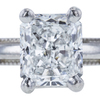 1.02 ct. Radiant Cut Solitaire Ring, E, VS1 #4