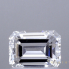 1.0 ct. Emerald Cut 3 Stone Ring, E, VS1 #1