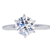 1.21 ct. Round Cut Solitaire Ring, G, SI2 #1
