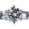 1.03 ct. Round Cut Bridal Set Ring, K, SI1 #4