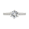 0.96 ct. Round Cut Solitaire Ring, I, VVS2 #3