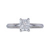 1.02 ct. Radiant Cut Solitaire Ring, E, VS1 #3