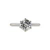 1.34 ct. Round Cut Solitaire Ring, M, VS2 #2