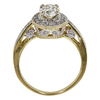 1.01 ct. Oval Cut Bridal Set Ring, K, VS1 #4